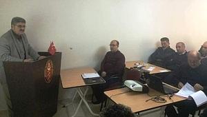 Malatya Veteriner Hekimleri eğitim semineri düzenlendi.