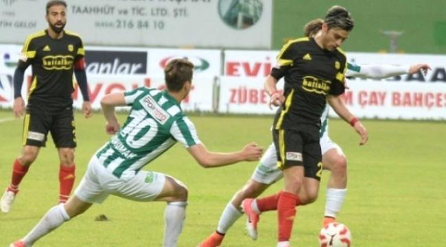 Giresunspor- Evkur Yeni Malatyaspor: 1-1
