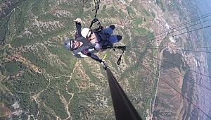 Yamaç paraşütüne yoğun ilgi