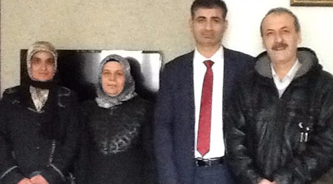 YEŞİLDER' den, Avukat Feridun Önal'a teşekkür ziyareti