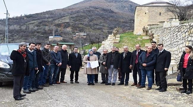 Arapgir hazfa projesi start aldı