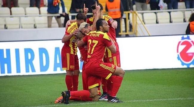 Evkur Yeni Malatyaspor'dan net galibiyet