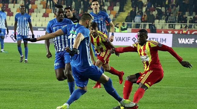 Yeni Malatyaspor beraberliğe razı oldu