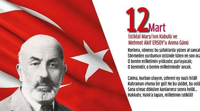 CHP Kadın Kollarından İstiklal Marşının Kabulü ve Mehmet Akif Ersoy'u anma mesajı