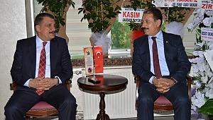 Gürkan'dan Keskin'e Ziyaret