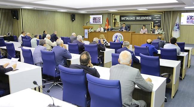 Battalgazi Belediye Meclisi Haziran toplantısını yaptı