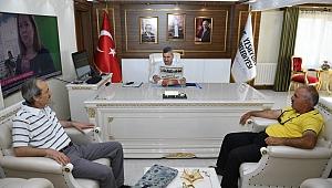 """Başkan Çınar """" Sosyal sorumluluk projelerine her zaman destek olacağız"""""""