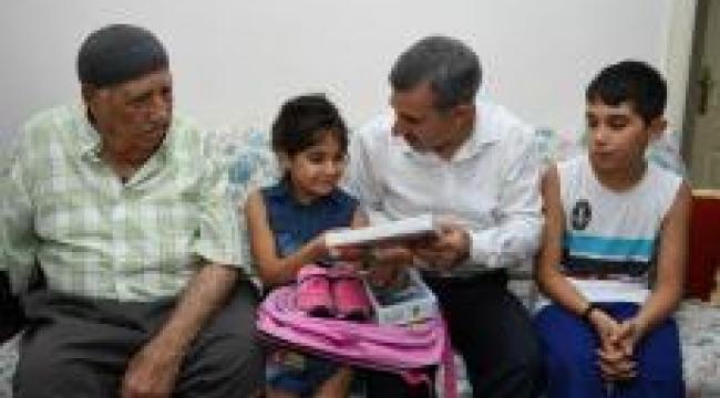 Başkan Çınar yetim çocuklara sürpriz ziyaret