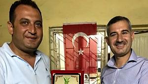 Başkan Çınar'dan,Gazi Ergün'e