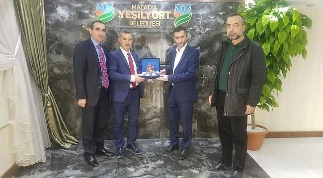 Koop İş sendikasından Başkan Çınar'a iade-i ziyaret