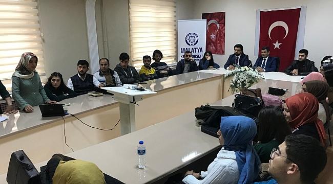 """Turgut Özal Üniversitesi Öğrencileri """"Malatya Kent Konseyi""""ni Anlattı"""