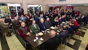 """Başkan Gürkan """"Çarşı Kültürünü ihya etmemiz lazım"""""""