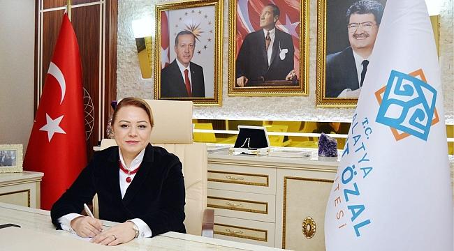 """Rektör Prof. Dr. Karabulut; """"Engelli ve özel bireyler ile aileleri mutlu ise, toplumda mutludur"""