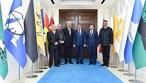 """Başkan Gürkan """" herkesi kucaklayacağız"""""""