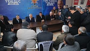 Cumhur İttifakı Hekimhan Seçim Bürosunun Açılışı Yapıldı