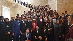 Malatyalı gençler Erdoğan'la bir araya geldi