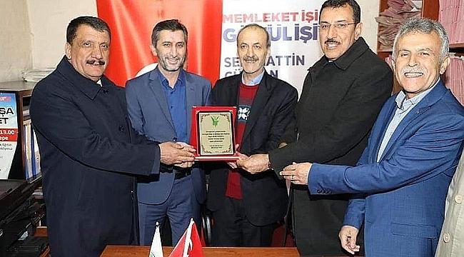 """Başkan Durak """" Her 4 kişiden 3 kişi Başkan Gürkan """" dedi."""