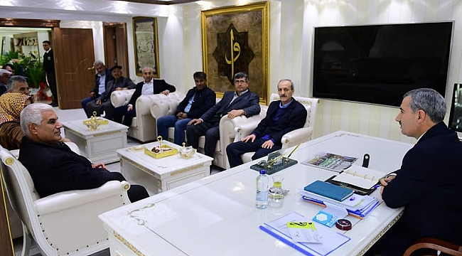 YEŞİLDER'den, Başkan Çınar'a hayırlı olsun ziyareti