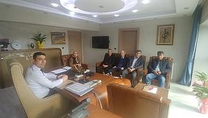 YEŞİLDER'den, Başkan yardımcısı Umut Türk'e ziyaret
