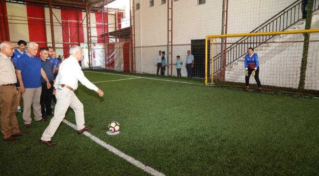 Başkan Güder'den santra vuruşu