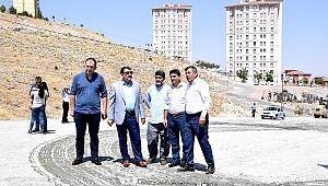 Başkan Gürkan TOKİ çalışmalarını inceledi