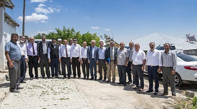 MASKİ Genel Müdürü Karataş'tan Hekimhan'a ziyaret
