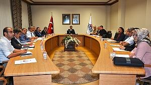 Bağımlılıkla mücadele toplantısı gerçekleştirildi