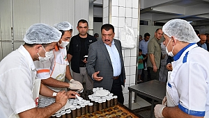 Başkan Gürkan MEGSAŞ' ı ziyaret etti