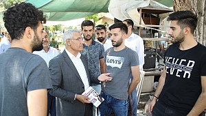 Güder Erdoğan'ın mitingi için Malatya'lılardan destek istedi.