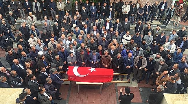 Akçadağ eski Belediye Başkanı İbrahim Koşar toprağa verildi.