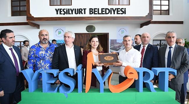 Malatya Tanıtım günlerinde Yeşilyurt Rüzgarı