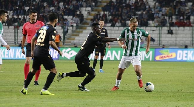 Yeni Malatyaspor Konya'yı salladı