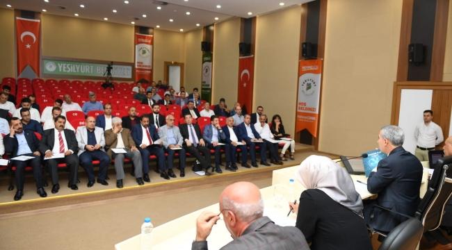Yeşilyurt belediye meclis toplantıları camlı yayında