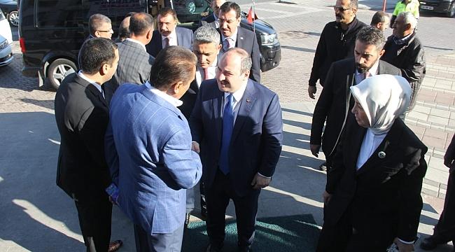 """Keskin: """"Yeni sanayi sitesi Malatya içinde şart"""""""
