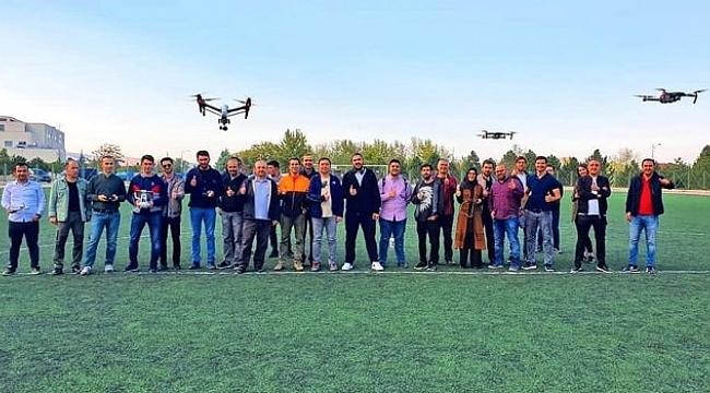 Malatya'da drone eğitimi kursu verildi.