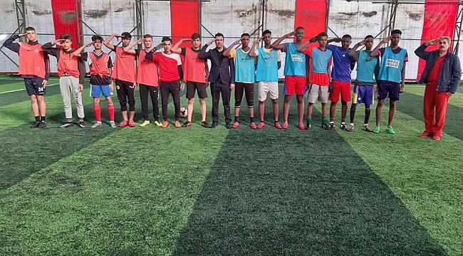 Şehit Yarbay Songül Yakut Anısına Futbol Turnuvası