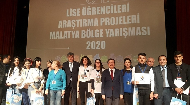 Malatya'dan 7 proje bölge birincisi