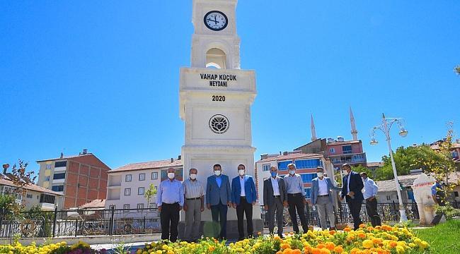 Başkan Gürkan Doğanşehir'de