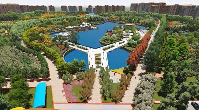 Malatya'ya 300 dönümlük park kazandırılıyor