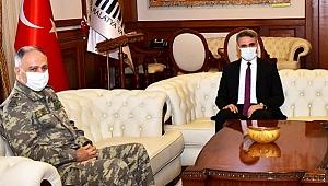 2. Ordu Komutanı Gürak Paşa'dan, Valiye Ziyaret