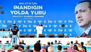 Başkan Gürkan Ak Parti kongresinde konuştu
