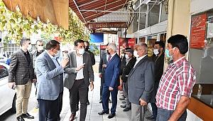 Başkan Gürkan Hekimhanlılarla buluştu