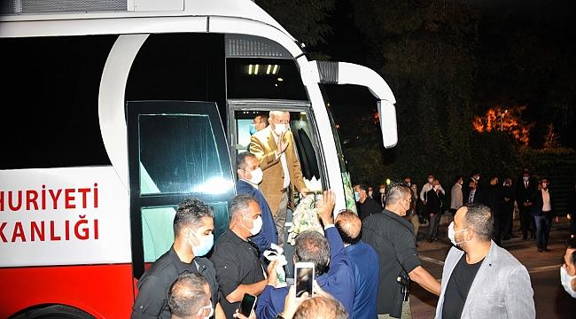 Gürkan Erdoğan'ı park makamda ağırladı