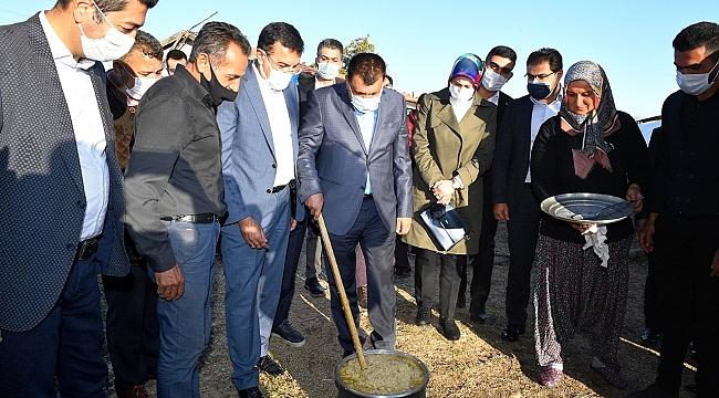 Başkan Gürkan Akçadağ Doğu mahallesinde