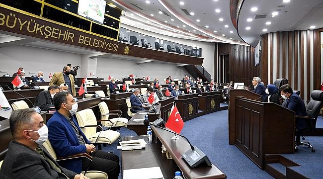 Büyükşehir Belediye Meclis toplantıları devam ediyor