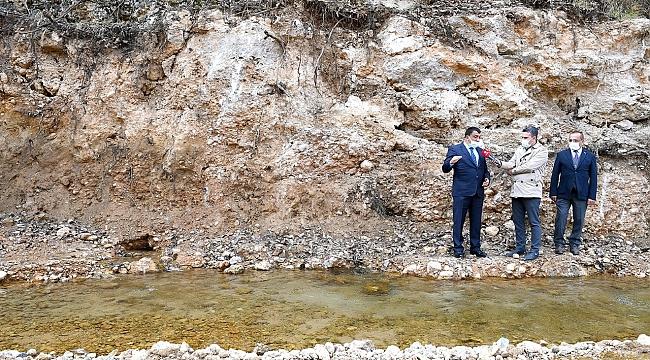 Malatya için yeni su kaynakları arayışında ilk müjde