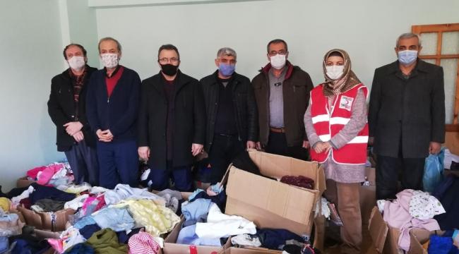 Başkan Eraslan'dan YEŞİLDER'e tebrik ziyareti