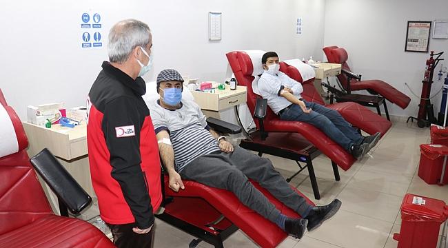 Başkan Soylu'dan kan bağışına davet