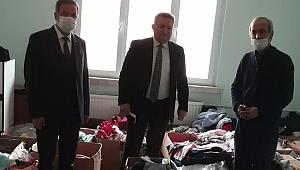 Meteoroloji Malatya Müdürü Ezher Zengin YEŞİLDER'i ziyaret etti.