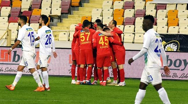 Yeni Malatyaspor'dan süper galibiyet